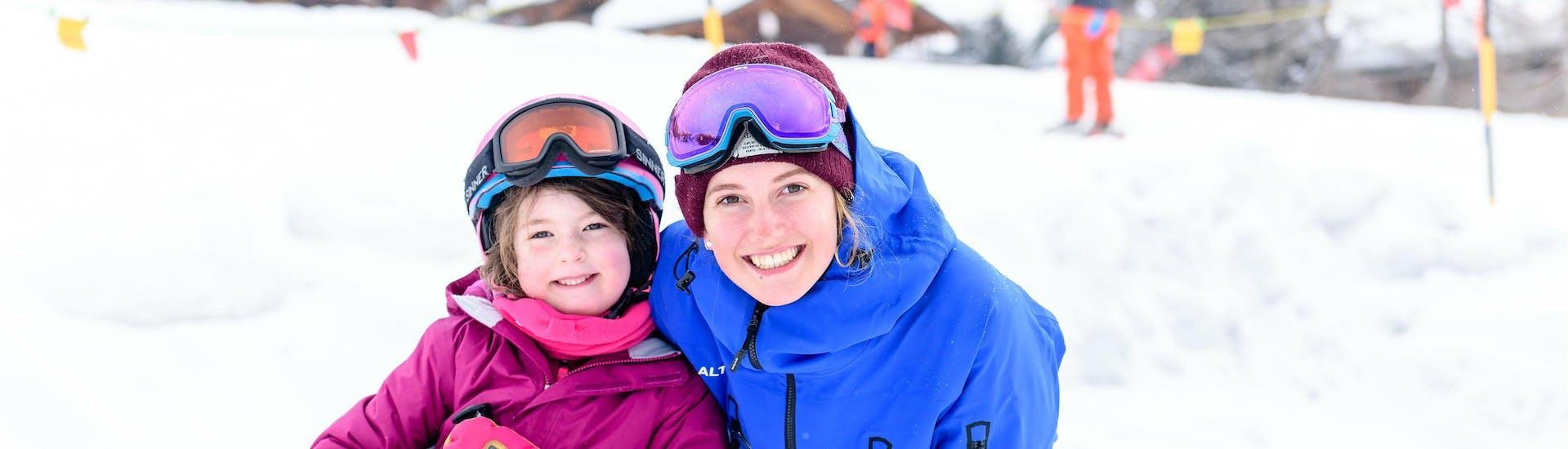 Moniteur de Ski Privé pour Enfants - Tous Âges avec Altitude Megève - Hero image