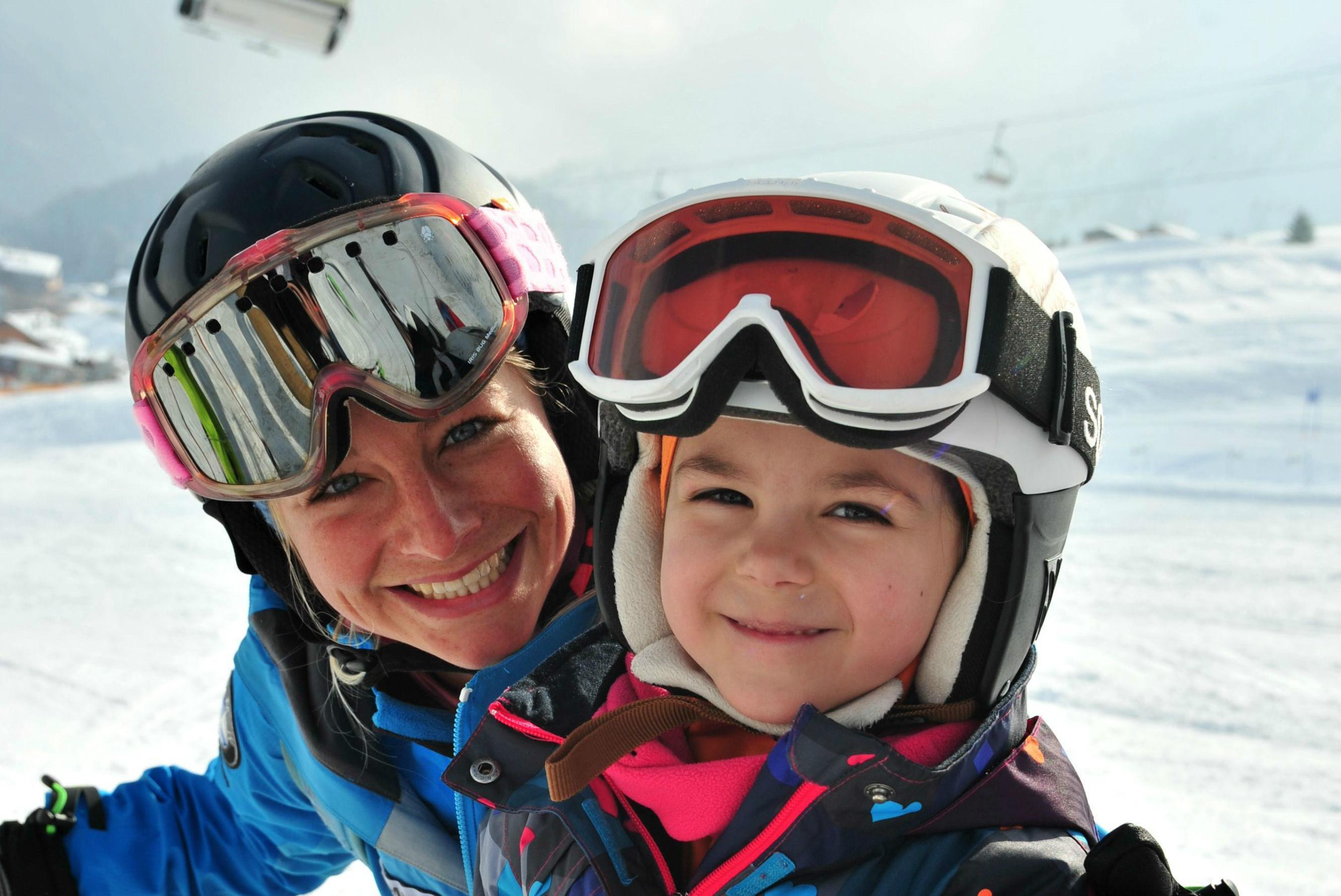 Privélessen skiën voor kinderen van alle leeftijden in Lech