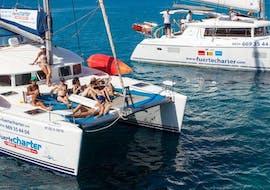 Balade privée en catamaran depuis Corralejo avec Kayak & SUP avec Fuerte Charter Corralejo