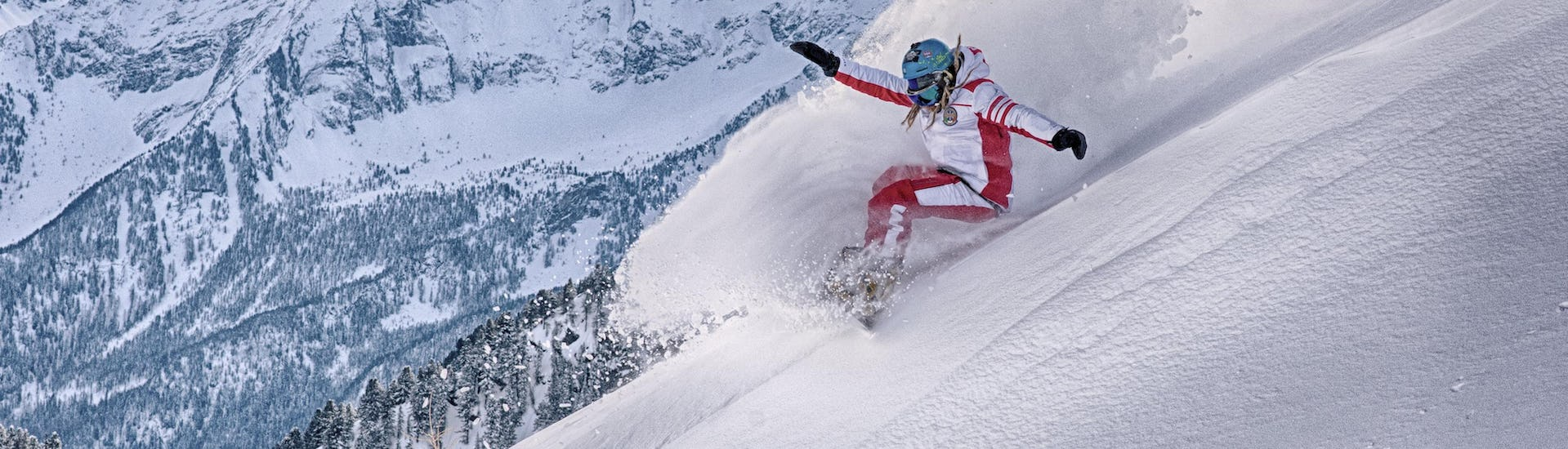 Private Off-Piste Snowboarding Lessons - All Levels