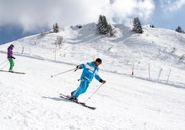 Private Ski Lessons for Adults - February