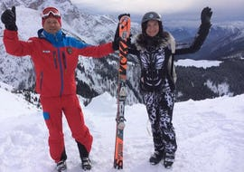 Privater Skikurs für Erwachsene - Hochsaison