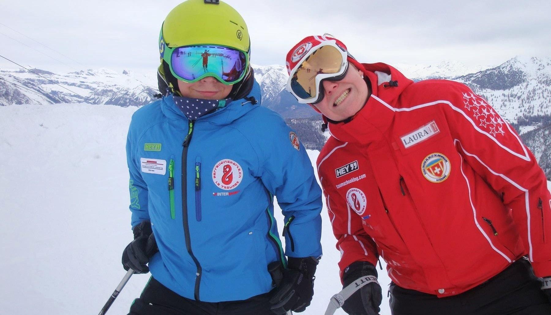 Lezioni private di sci per adulti principianti assoluti