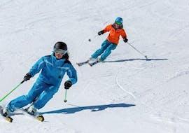 Privé skilessen voor volwassenen voor alle niveaus met ESI Glycérine Sport Anzère