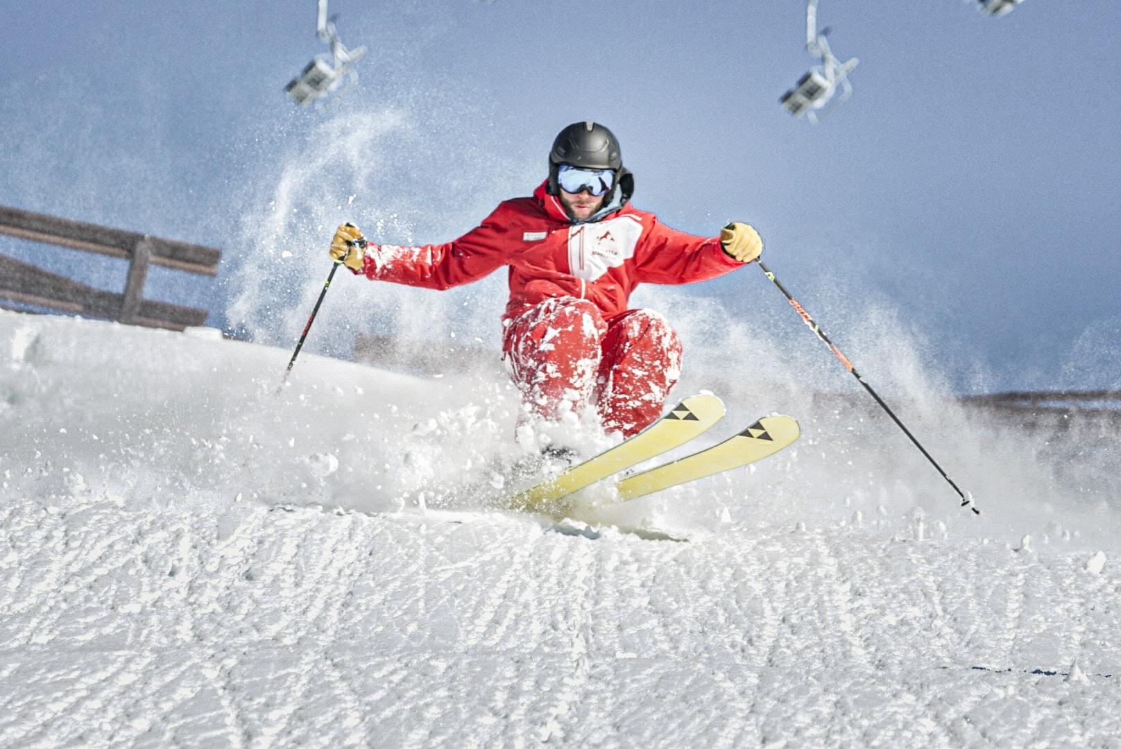 Clases de esquí privadas para adultos para todos los niveles