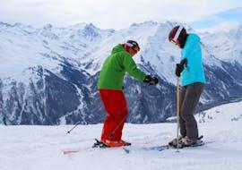 Privélessen skiën voor volwassenen van alle niveaus met Skischule A-Z Arlberg