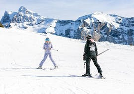 Private Ski Lessons for Adults of All Levels with Snow Attitude Champéry