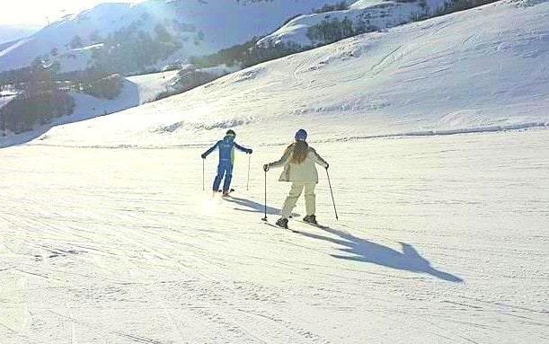 Clases de esquí privadas para adultos a partir de 14 años para avanzados