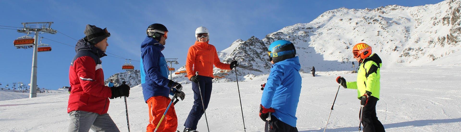 Privater Skikurs für Familien und Freunde