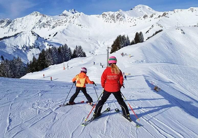 Cours particulier de ski Enfants (3-7 ans) - Morgins