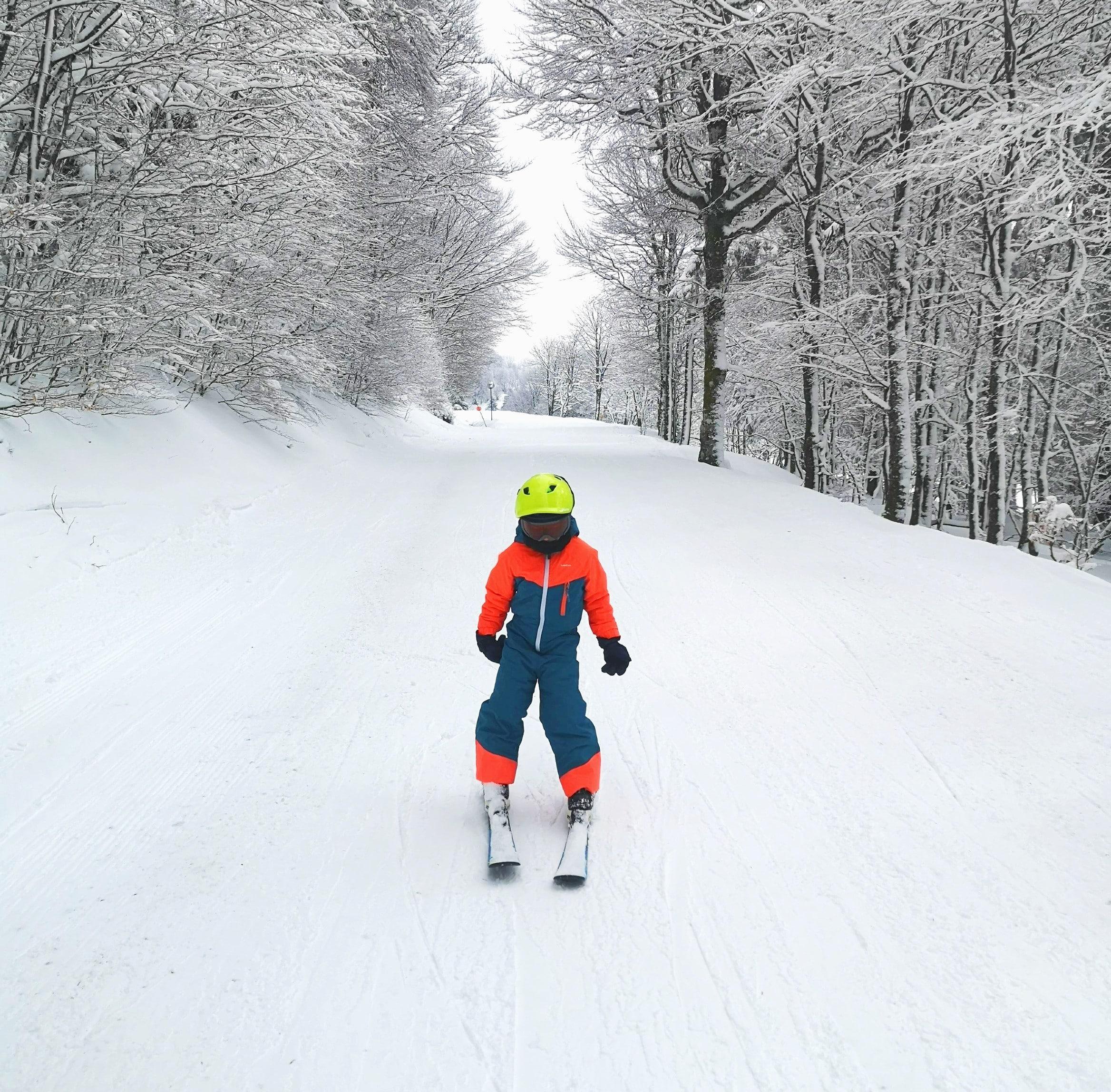 Lezioni private di sci per bambini a partire da 4 anni principianti assoluti