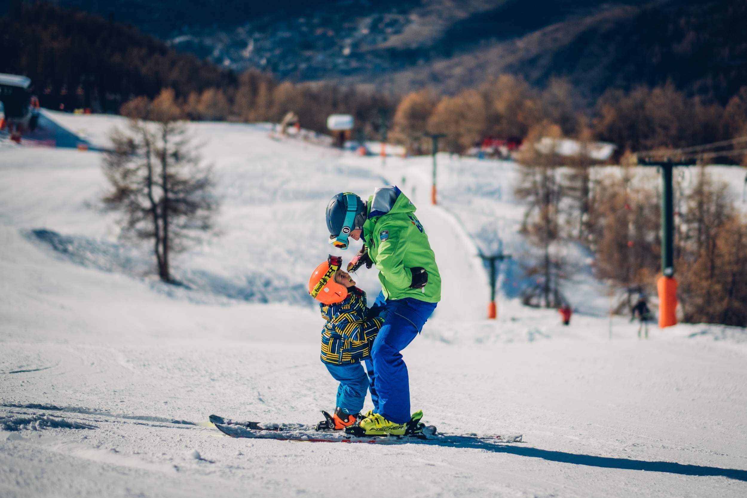 Cours particulier de ski Enfants pour tous niveaux- Vacances