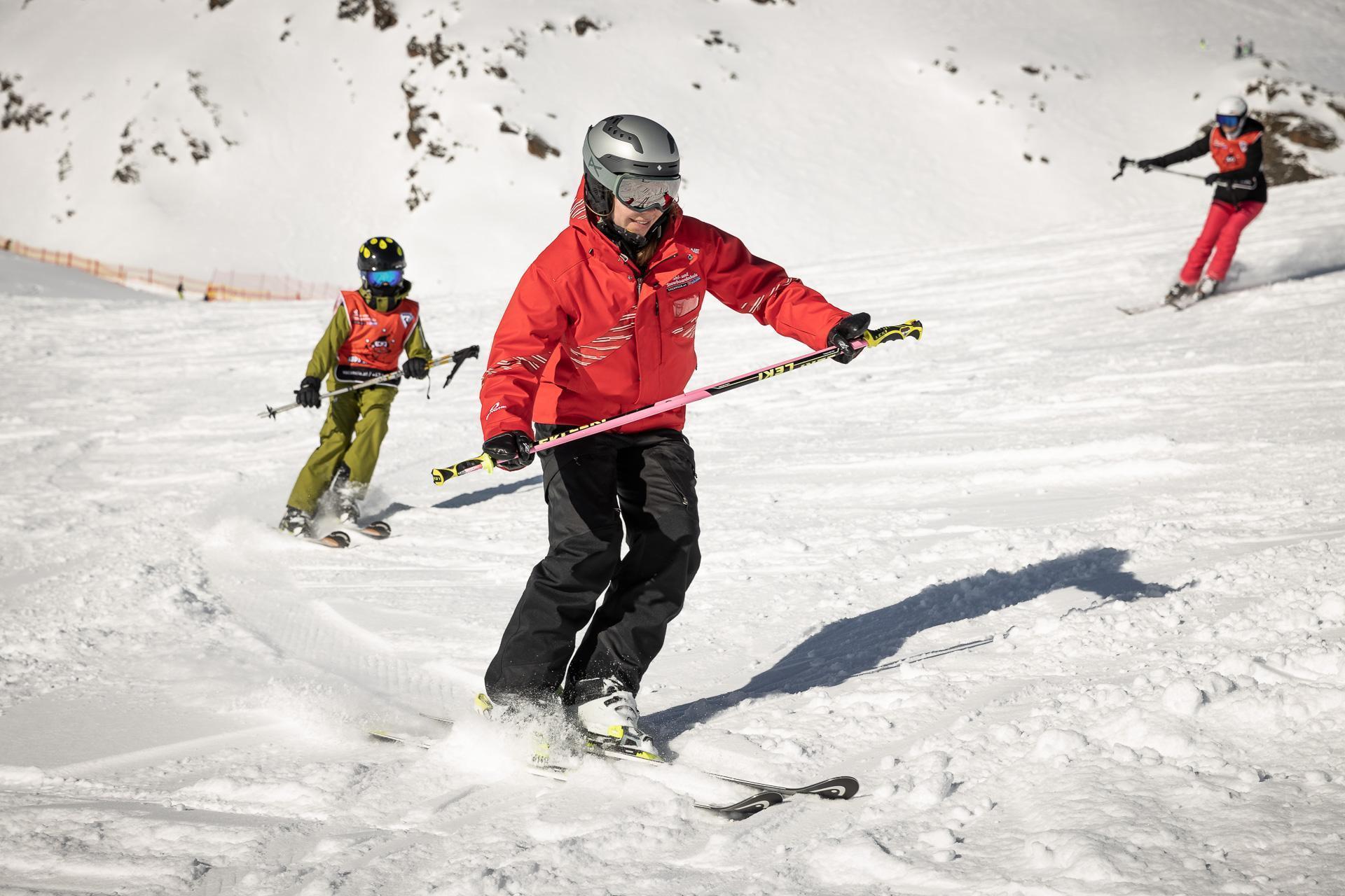 Privélessen skiën voor kinderen van alle niveaus