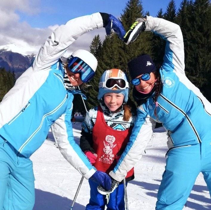 Cours particulier de ski Enfants pour Tous niveaux - Février