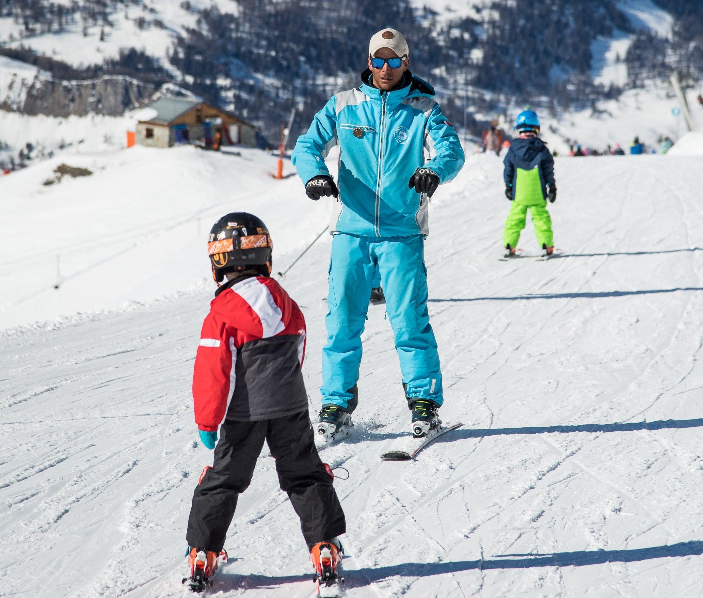 Cours particulier de ski pour Enfants - Février