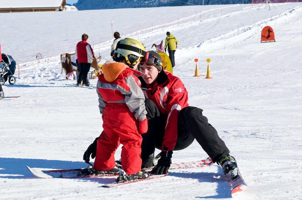 Cours particulier de ski Enfants pour Débutants