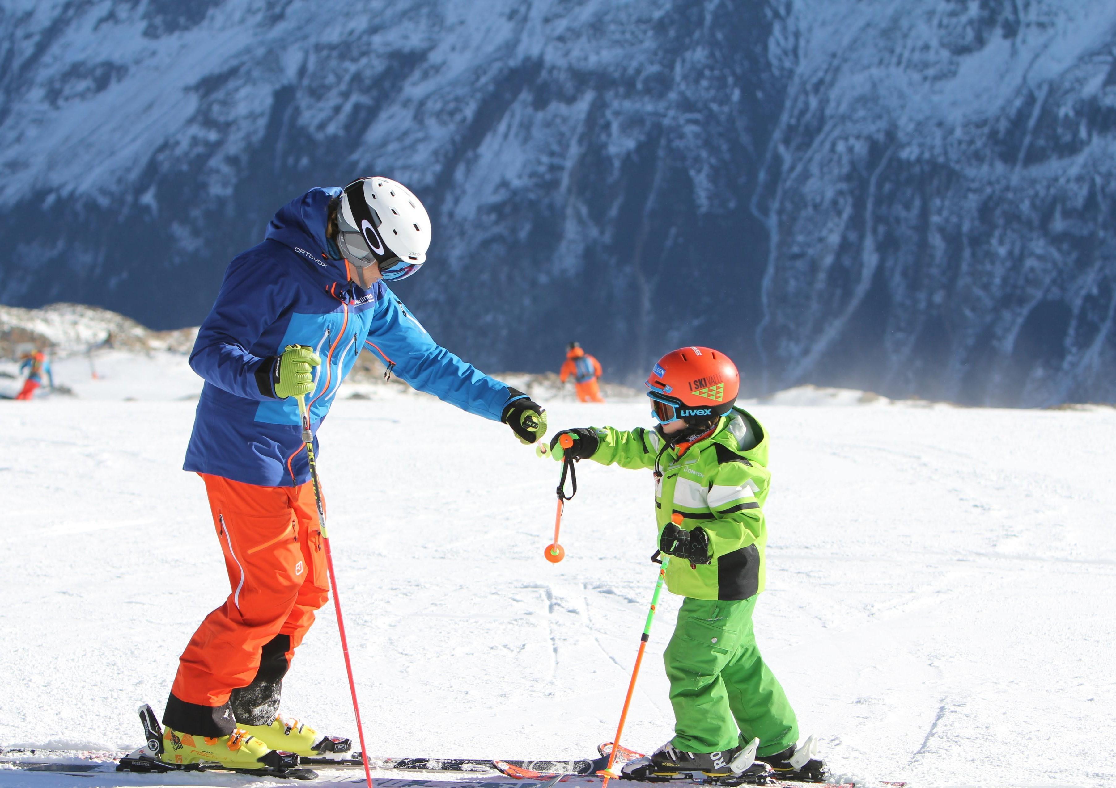 Privélessen skiën voor kinderen - Obergurgl-Hochgurgl