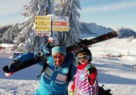 Cours particulier de ski Enfants de Tous âges - Basse saison avec ESI La Clusaz