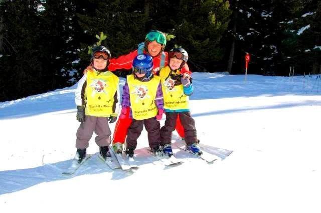 Clases de esquí privadas para niños a partir de 3 años para todos los niveles
