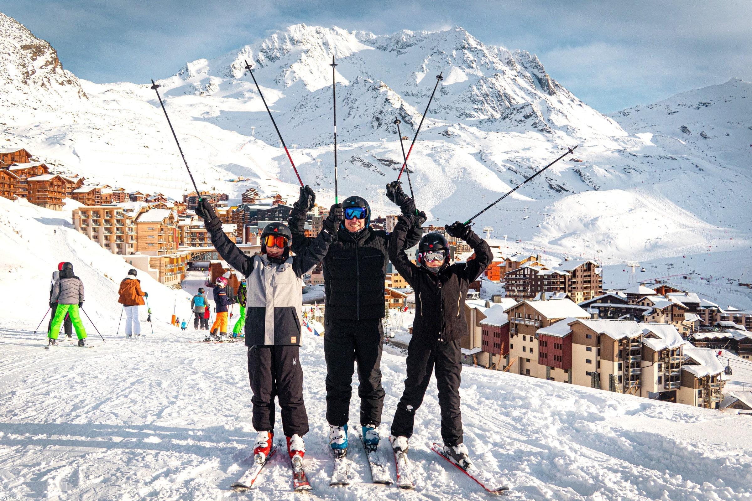 Cours particulier de ski Enfants - Après-midi