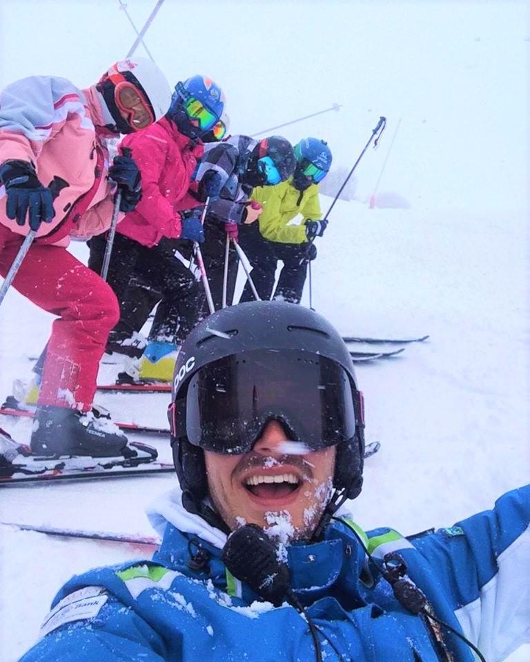 Clases de esquí privadas para niños a partir de 4 años para avanzados