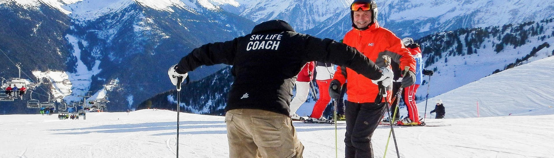 Cours particulier de ski Adultes - Premier cours