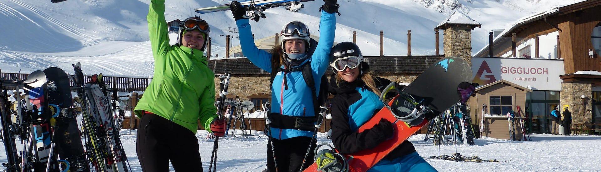 Privater Snowboardkurs für Erwachsene