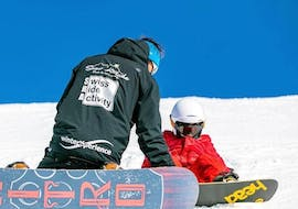 Private Snowboarding Lessons for All Levels & Ages with Snow Attitude Champéry