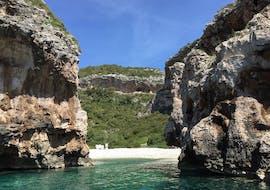 Vue depuis notre balade privé en bateau incl. Blue Cave, Hvar et 5 îles avec Toto Travel.