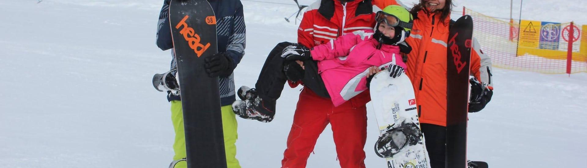 Snowboard Privatlehrer für Kinder & Erwachsene - Alle Levels