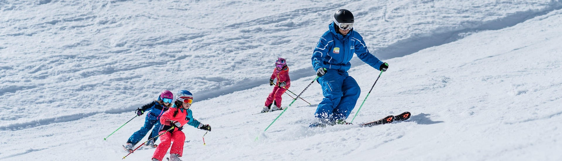 Ski Lessons Kids incl. equipment (6-14 years) - All Levels