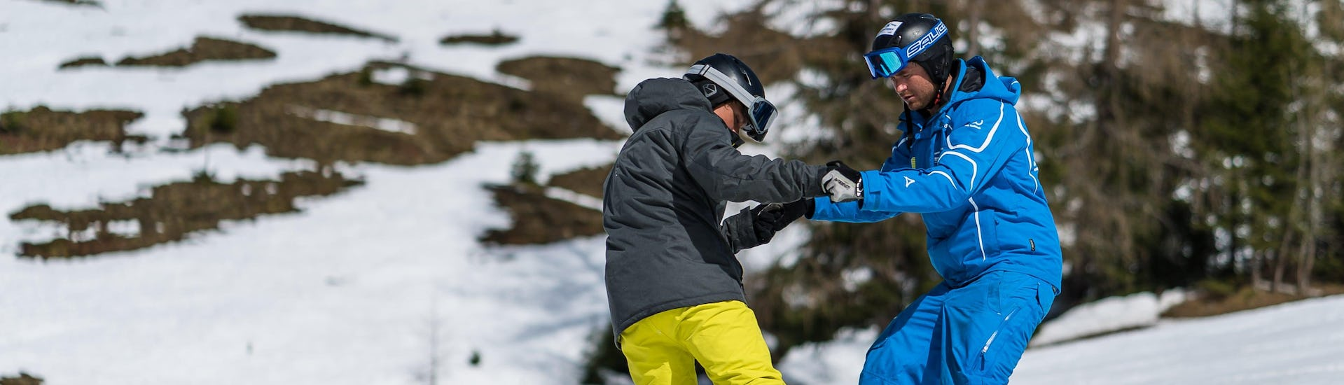 Snowboard Lessons Adults incl. equipment - All Levels