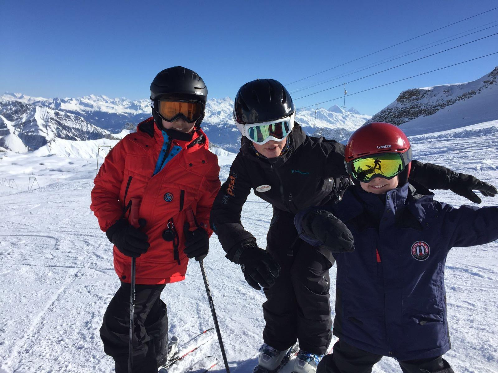 Cours particulier de ski Enfants pour Tous âges - Matin
