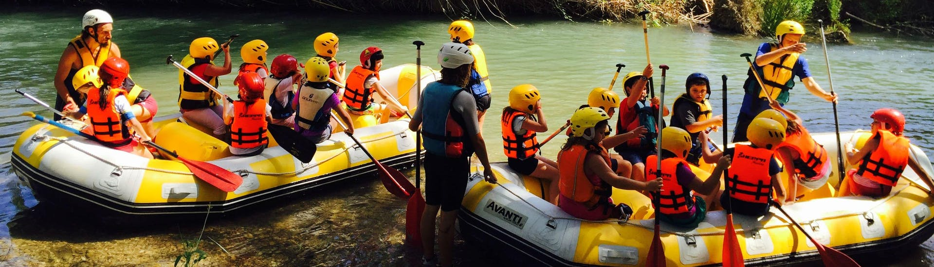 "Rafting ""Familia & Amigos"" - Río Turia"