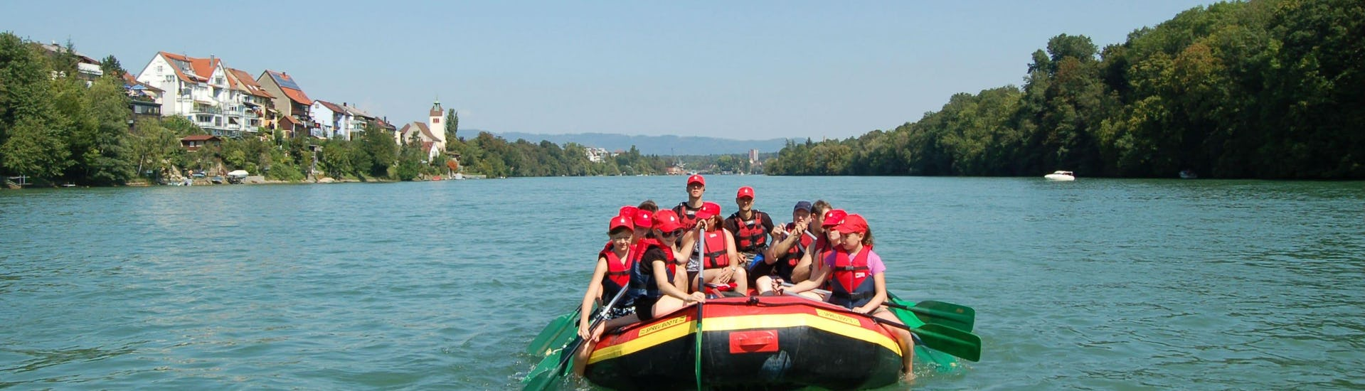 """Rafting """"Soft"""" for Groups (15+ ppl.) - Rhine"""