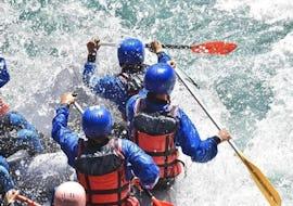 Rafting sur le Rhône - Action