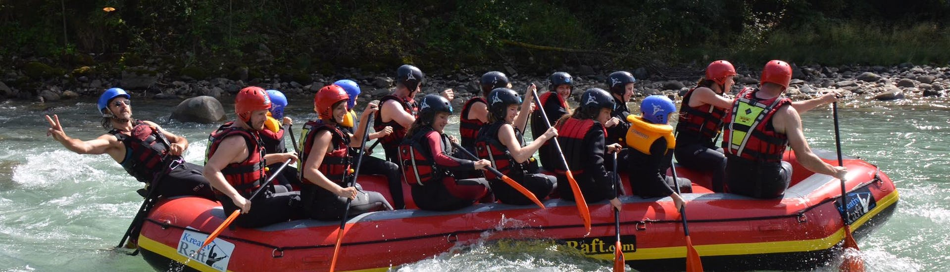 """Rafting """"Action & Safety"""" per Gruppi (15-40 pers.) - Rienza"""