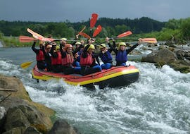 Rafting on the Iller River - All in one Raft
