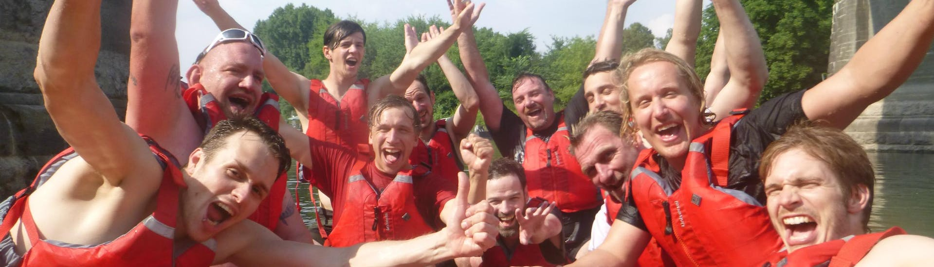 """Soft Rafting """"Cologne"""" for Groups - Rhine"""