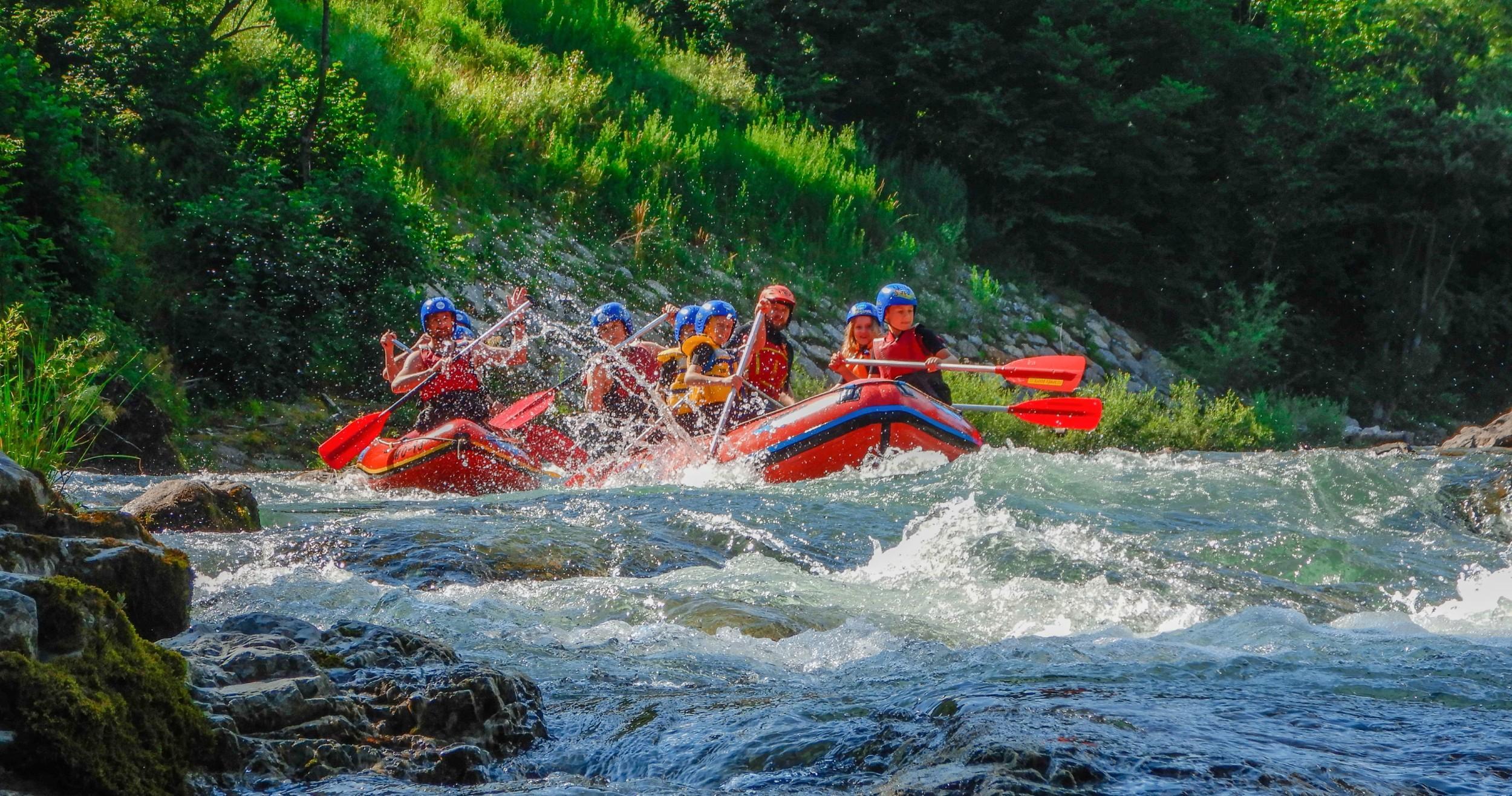 ▷ Classic Rafting on the Savinja River from 40 € - CheckYeti