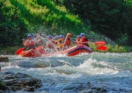 "In full action during Rafting ""Classic"" - Savinja organized by Funpark Menina."
