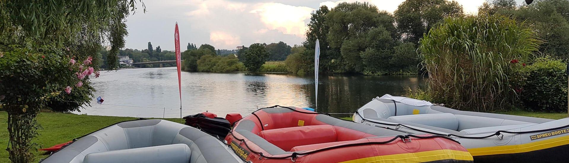 """Rafting """"Lange Tour"""" für Gruppen - Ruhr"""