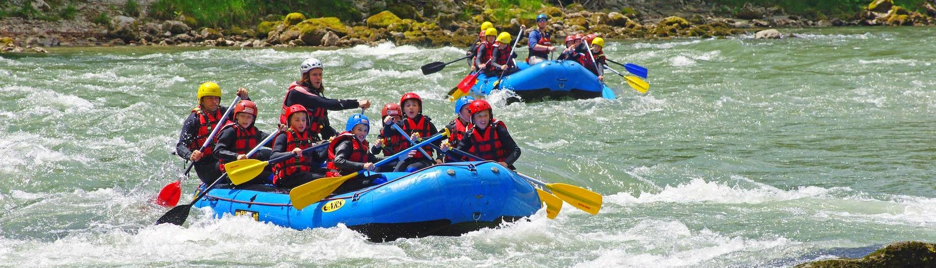 """Rafting """"Family Tour"""" - Enns in Gesäuse"""