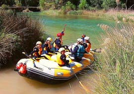 Family Rafting on the Río Cabriel