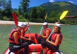 Rafting on the Kitzbüheler Ache for Families