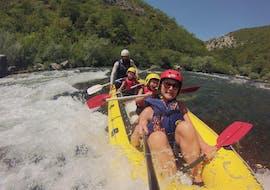 Rafting für Familien auf der Cetina