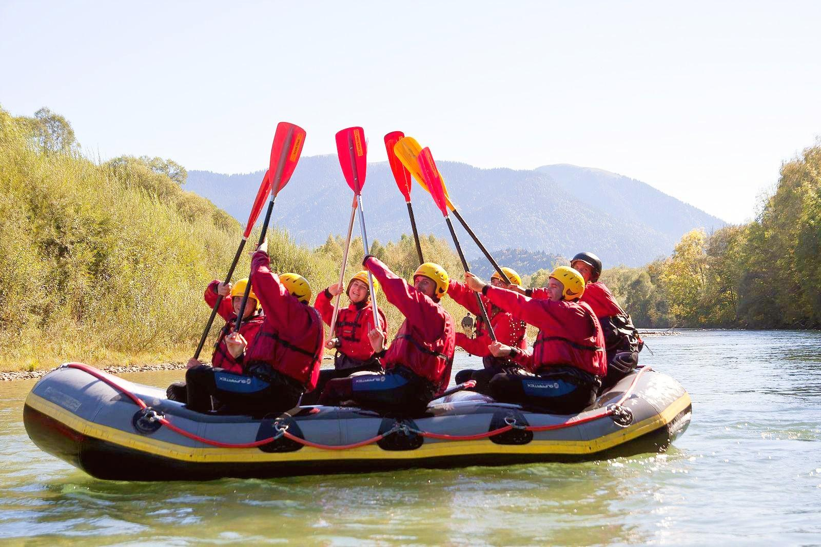 ▷ Rafting on the Isar River from Lenggries for Families from 49 € -  CheckYeti