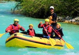 Rafting auf der Soča für Familien - Kreda