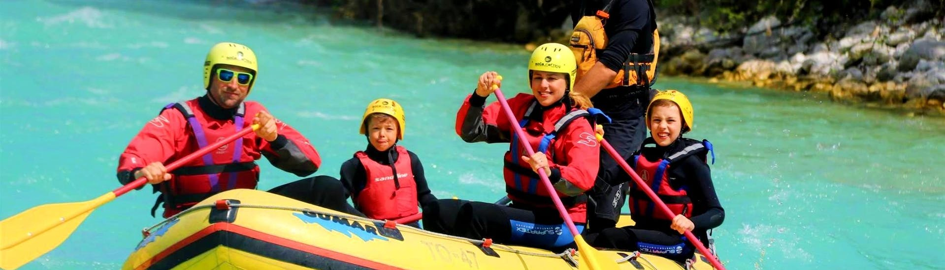 Rafting on the Soča River for Families - Kreda