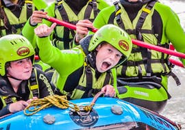 Rafting in Imster Schlucht for Kids & Families